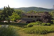 FOR SALE EXCLUSIVE STONE VILLA WITH TENNIS COURT-AREZZO - TUSCANY