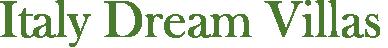 Logo Italy Dream Villas Magazine